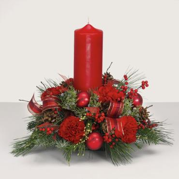 Let It Glow Christmas Arrangement