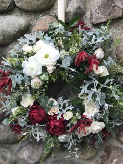 wreaths for the church doors
