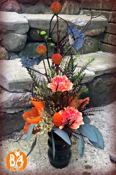 Trick or Treat Flower Arrangement