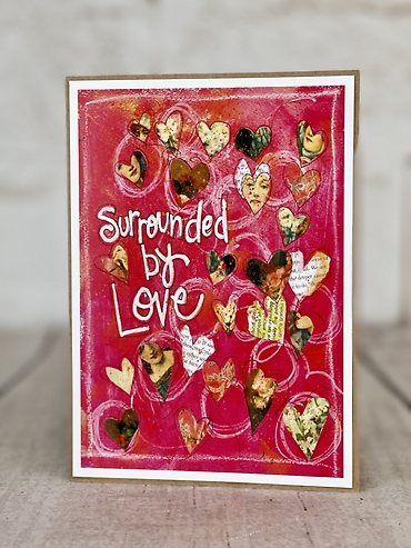 Surrounded by Love Card