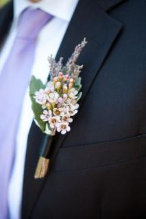 Waxflower Boutonniere (B16)