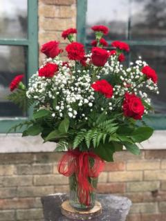Alpha Chi Omega Large Rose Arrangement