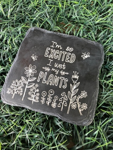 I\'m so excited stepping stone