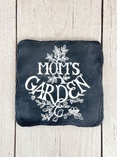 Mom\'s garden stepping stones