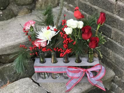Holiday Vintage Blooms